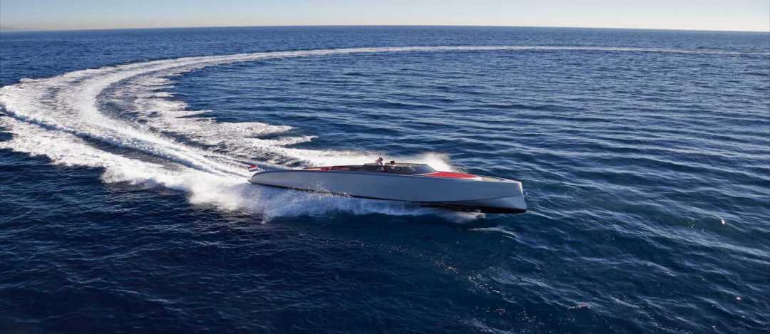 Vanquish Yacht Running