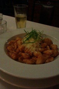 Vego gnocchi. Also too big to finish!
