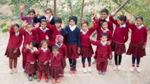 Nepalese School Kids
