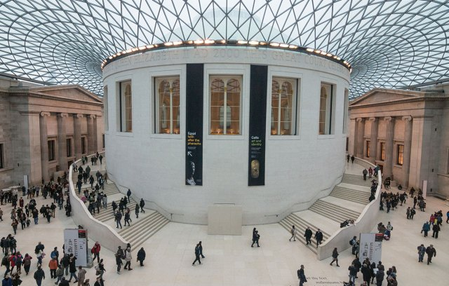private tour of British Museum
