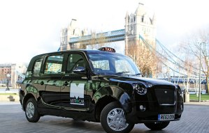 london black cab tower bridge