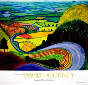 david hockney garrowby hill image
