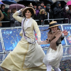Suffragettes London Parade