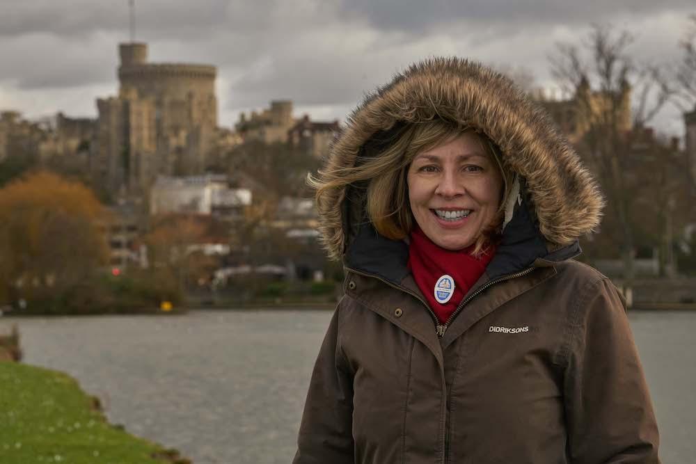Tour of Windsor Castle, Blue badge guide