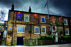 The Bingley Arms in Bardsey near Leeds in Yorkshire