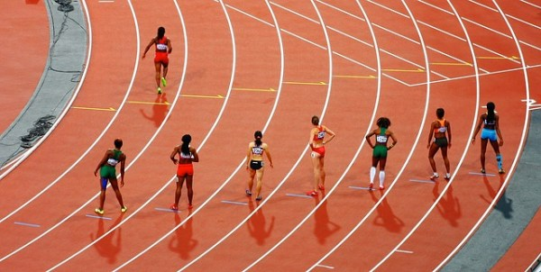 olympics, track