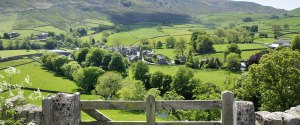 A village in the Yorkshire Dales
