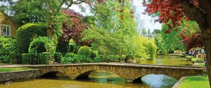 Bridge over a river in the Cotswolds