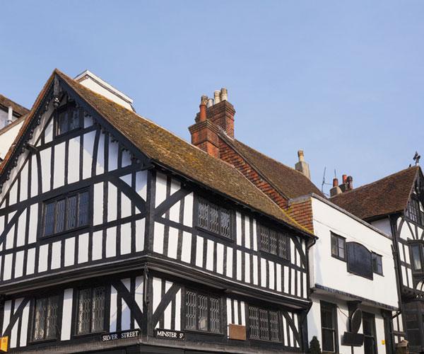 Tudor house in Salisbury