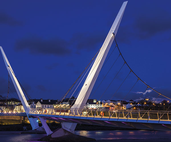 Peace Bridge, Londonderry