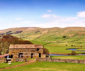 A house on the Yorkshire Dales