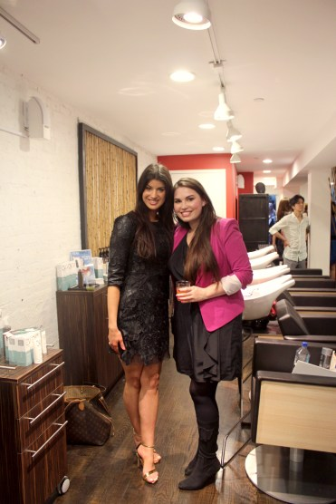 with Britta Aragon of CV Skinlabs