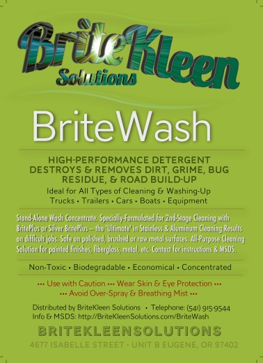 BriteWash: The Secret to the Cleanest Aluminum & Stainless. Ever.