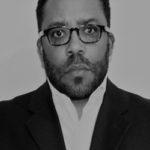 B&W - Terrence Brown - Serious Look in Black Suit