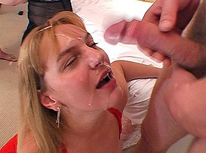 2 Brummie housewives share 20+ spunk loads
