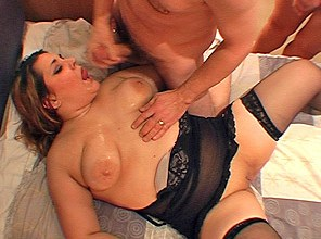 Sticky Steph takes 15 loads in Travelodge cum party