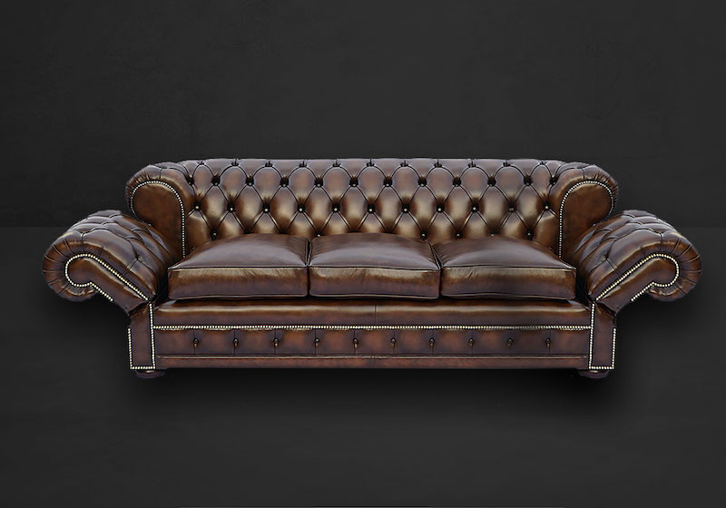 Double Drop Arm Chesterfield Sofa British Furniture Collection