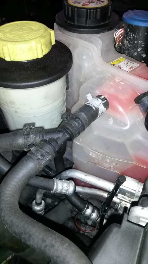 small resolution of low coolant message on range rover sport