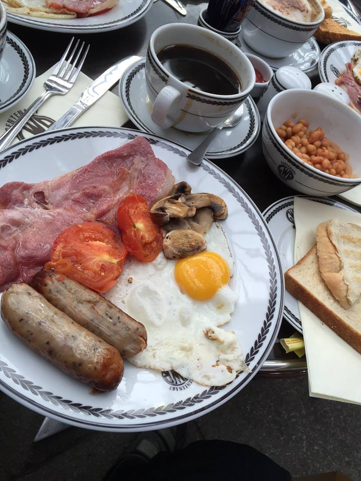 Centenary Square Cafe Full English Breakfast