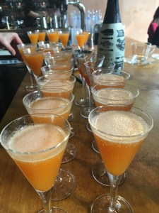 Sea-Buckthorn Mimosas