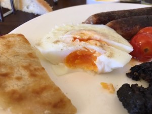 Victoria Square Guest House - Hard Poached Egg - Stirling