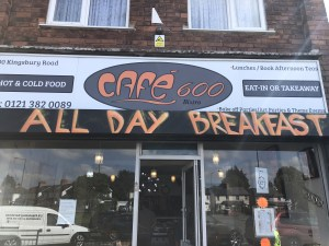 Cafe 600 - Erdington