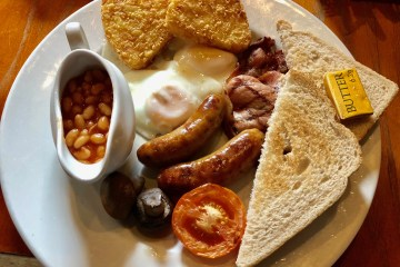 Brasshouse Full English Breakfast