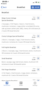 Crusty Cottage - Just Eat menu