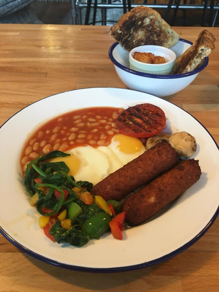 English Breakfast Co - Veggie Breakfast