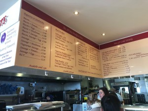 Roasters Restaurant and Coffee Bar Tamworth - Menu