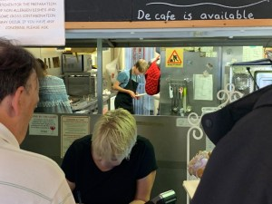 Cornmarket Cafe Bistro - Spotless Kitchen and Adele Serving - Warminster