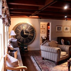 Living Room Clocks Next Mirror Decor In Mora Clock Up Is The Dining