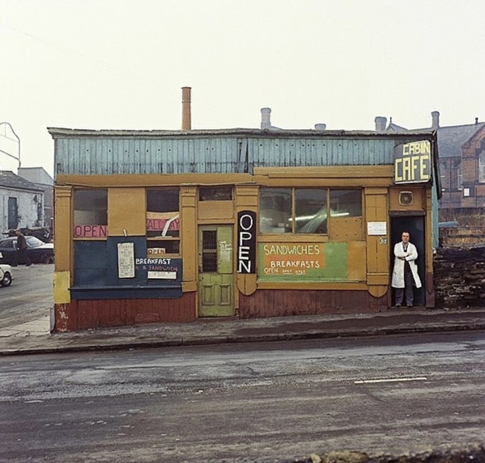 Cabin Cafe. Peter Mitchell Leeds
