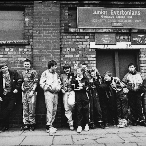 Junior Evertions at Goodison Park