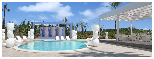 On-Sicily - Pools afford a cooling dip after a ride and keep the family happy whilst you are out...