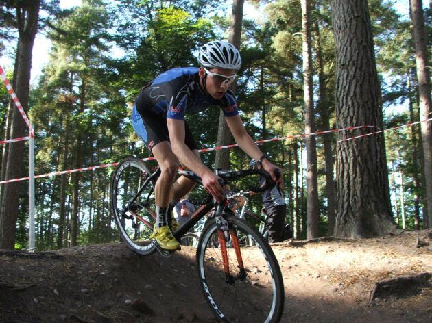 Joe Atkins, Raleigh Cyclocross Rider, looking good on his Raleigh RX Race bike