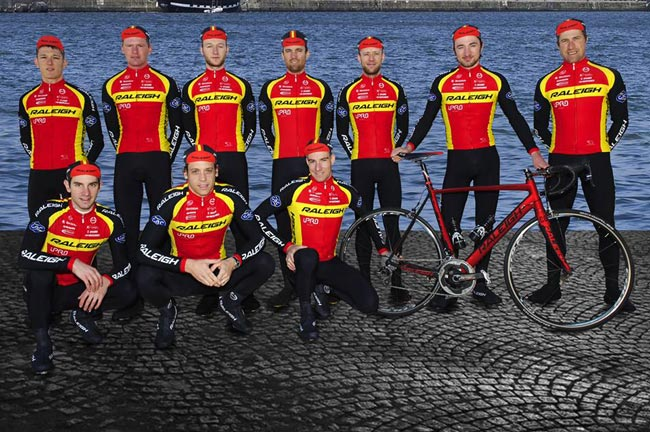Classic kit for Team Raleigh