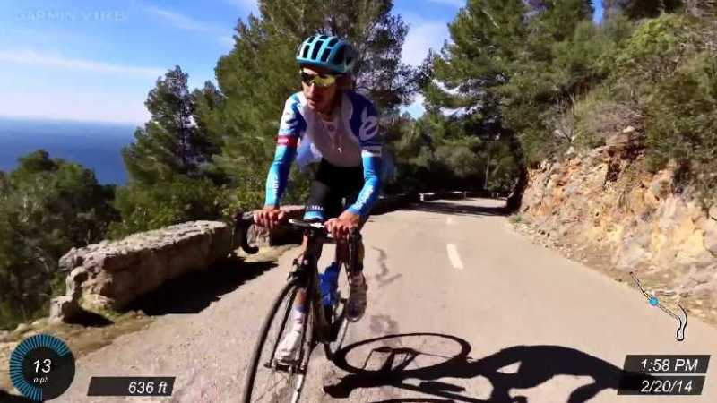 Garmin Sharp Climbing in Majorca