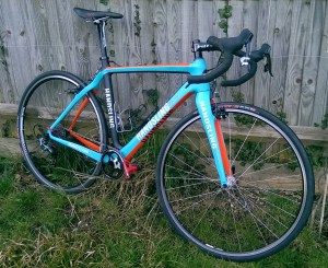 You can ride any bike, Ill be riding my shiny new Handsling CXC