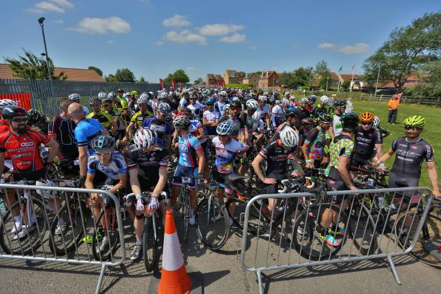 Turn out for the ToC was huge and for many it would be their first attempt at a 'proper' road race.