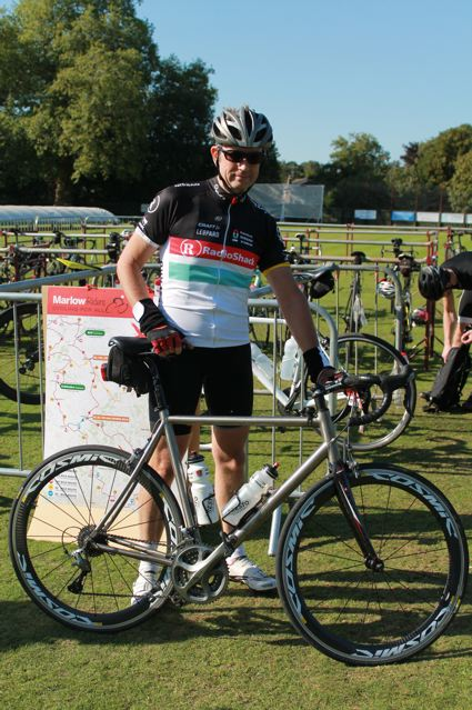 A full field of 700 riders tackled the Marlow Riders Sportive, raising over £7000 for charity