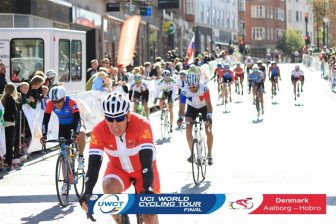 I finally finished in 110th! Not a great result, but a fantastic event. Photo courtesy of Sportstiming