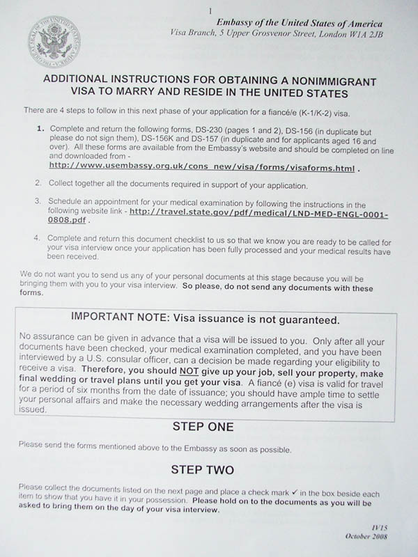 K1 Visa Sample Aos Cover Letter