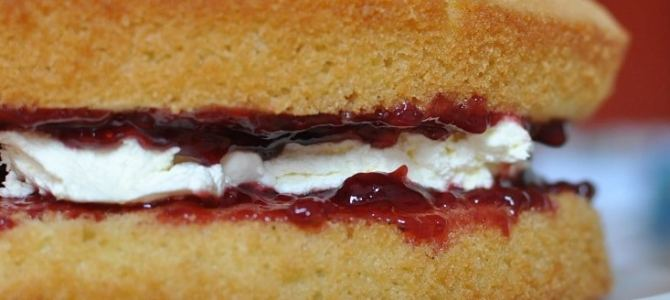 Time for Tea: Victoria Sponge