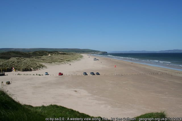 Northern Ireland beach