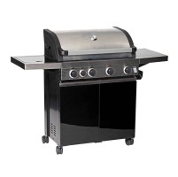 Leisuregrow 4 Burner with Side Burner Barbecue