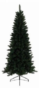 180cm Lodge Slim Pine Christmas Tree