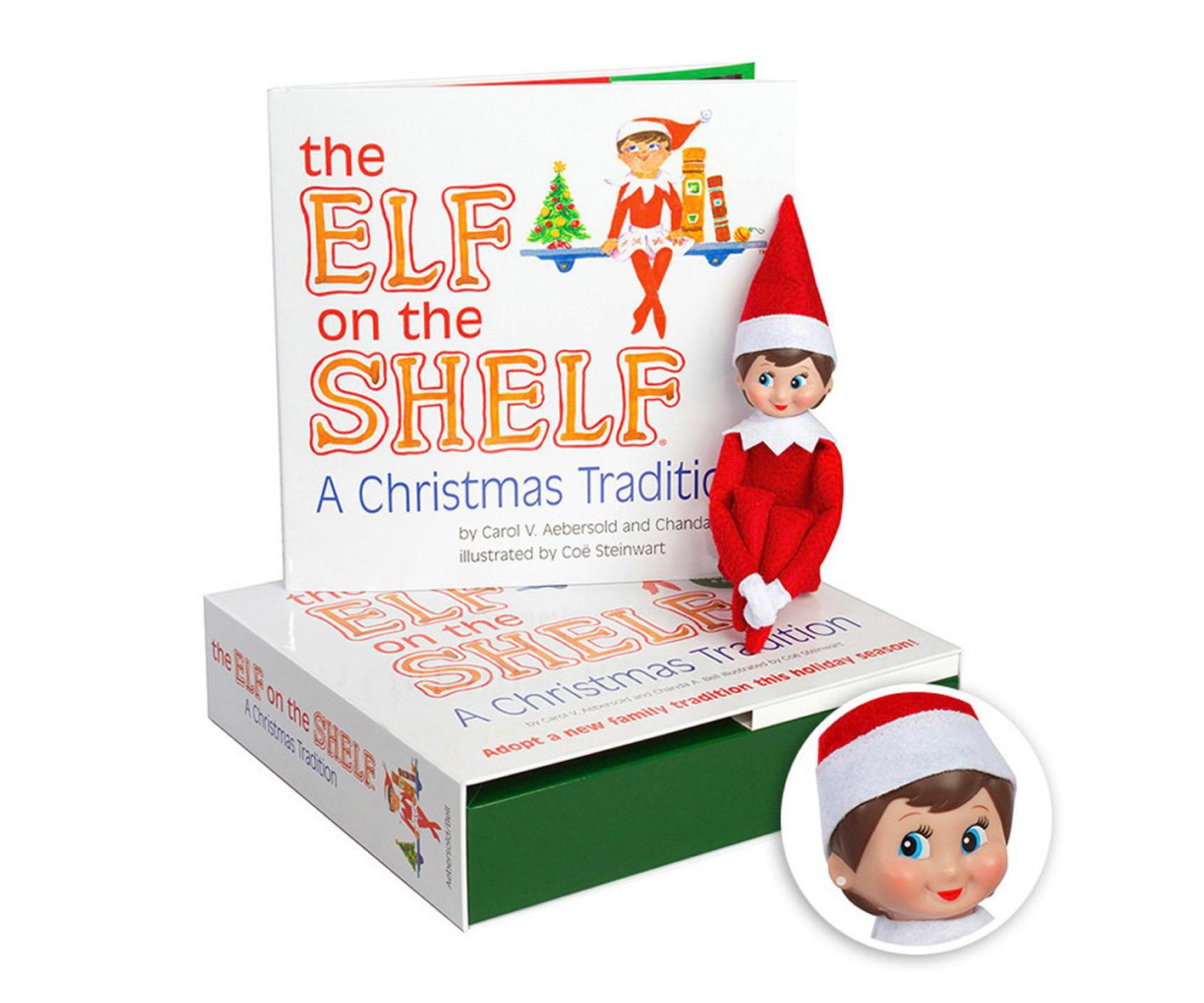 Elf on the shelf at British Garden Centres