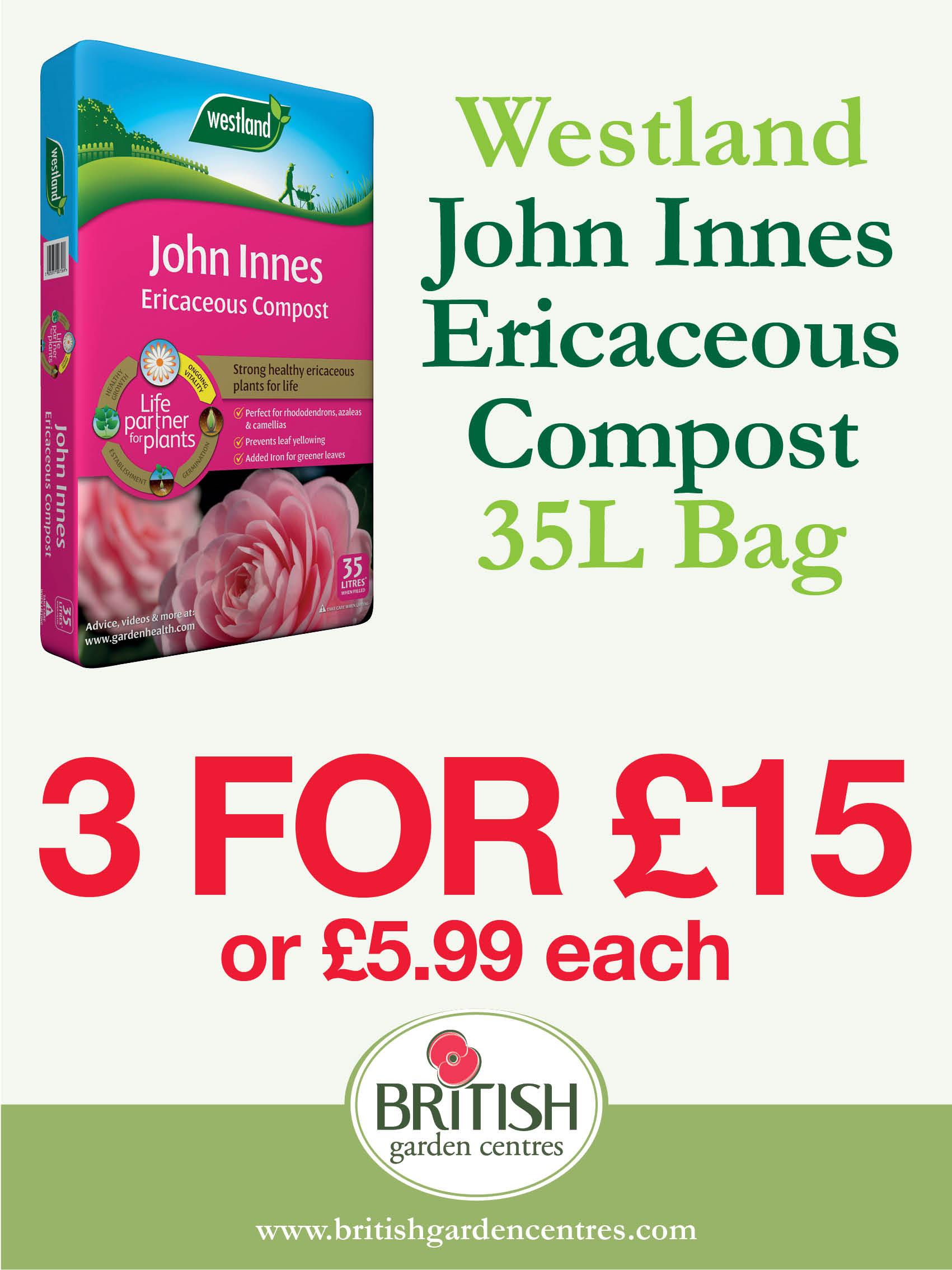 John Innes Ericaceous Compost 35L