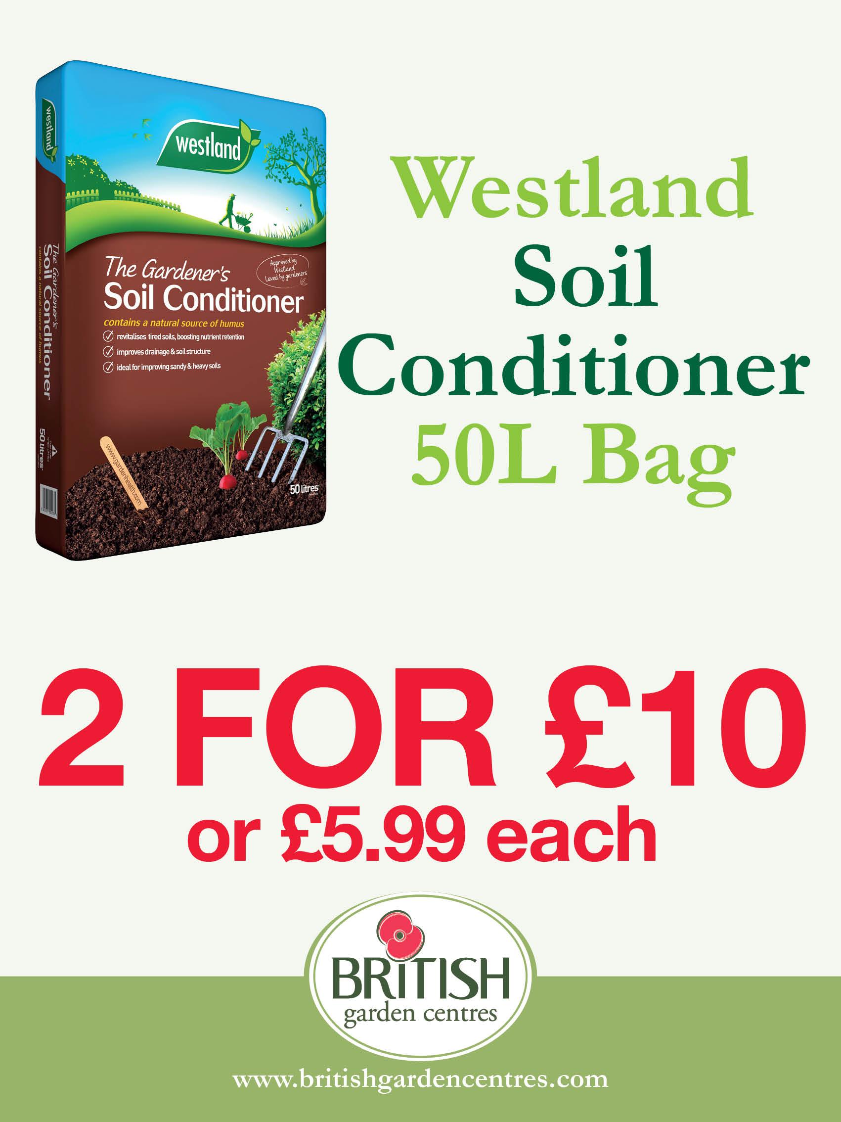 Westland Soil Conditioner 50L